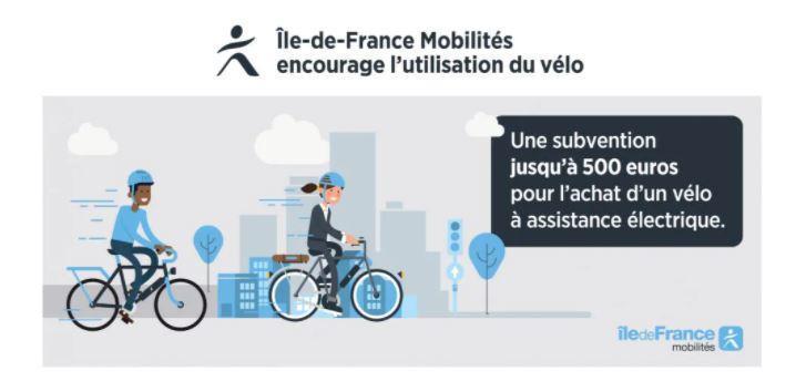 Affiche Subvention pour l'achat d'un vélo électrique