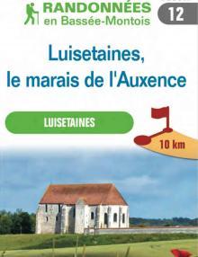 """Image du dépliant """"Luisetaines, le marais de l'Auxence"""""""