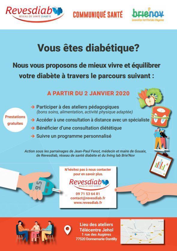 Communiqué Santé diabète